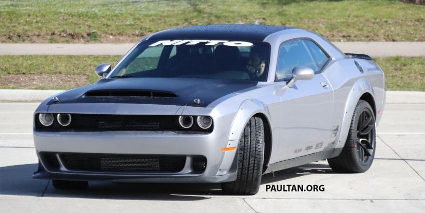 SPIED: Dodge Challenger Demon testing, launch soon Image #642681