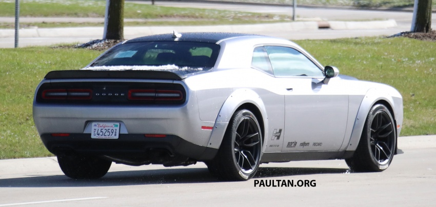 SPIED: Dodge Challenger Demon testing, launch soon Image #642694
