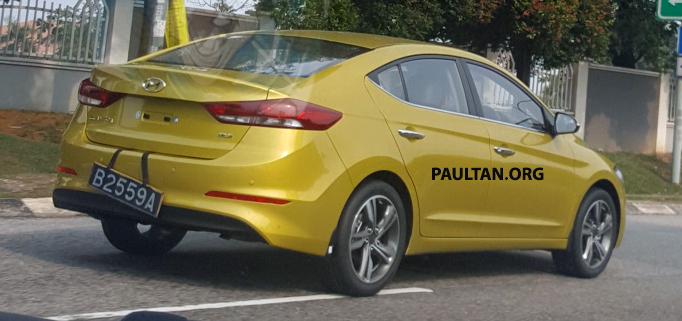 New Hyundai Elantra coming soon – 1.6 Turbo, 2.0 NA Image #645471