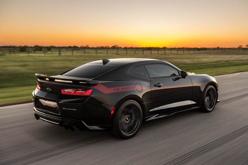 Hennessey unveils The Exorcist – casting out Demons with a 6.2L V8; 1,014 divine hp, 1,310 Nm of torque Image #642743