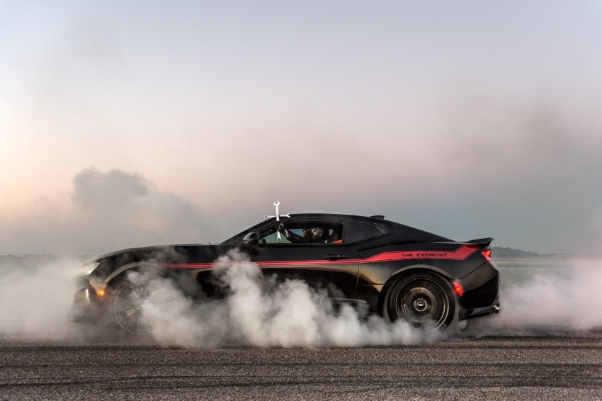 Hennessey unveils The Exorcist – casting out Demons with a 6.2L V8; 1,014 divine hp, 1,310 Nm of torque Image #642744