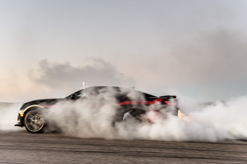 Hennessey unveils The Exorcist – casting out Demons with a 6.2L V8; 1,014 divine hp, 1,310 Nm of torque Image #642745