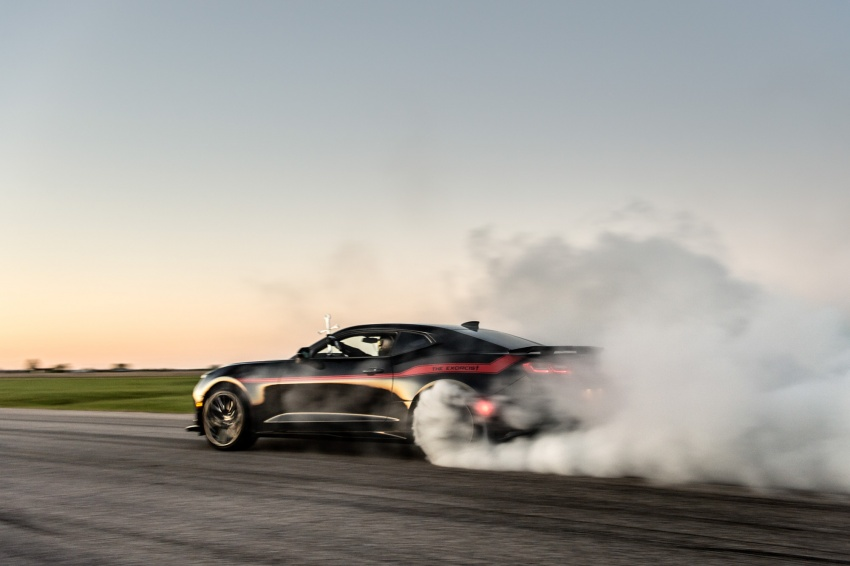 Hennessey unveils The Exorcist – casting out Demons with a 6.2L V8; 1,014 divine hp, 1,310 Nm of torque Image #642746