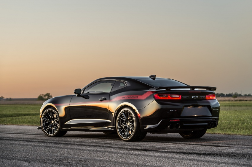 Hennessey unveils The Exorcist – casting out Demons with a 6.2L V8; 1,014 divine hp, 1,310 Nm of torque Image #642747
