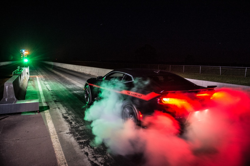Hennessey unveils The Exorcist – casting out Demons with a 6.2L V8; 1,014 divine hp, 1,310 Nm of torque Image #642751