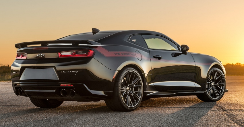 Hennessey unveils The Exorcist – casting out Demons with a 6.2L V8; 1,014 divine hp, 1,310 Nm of torque Image #642738