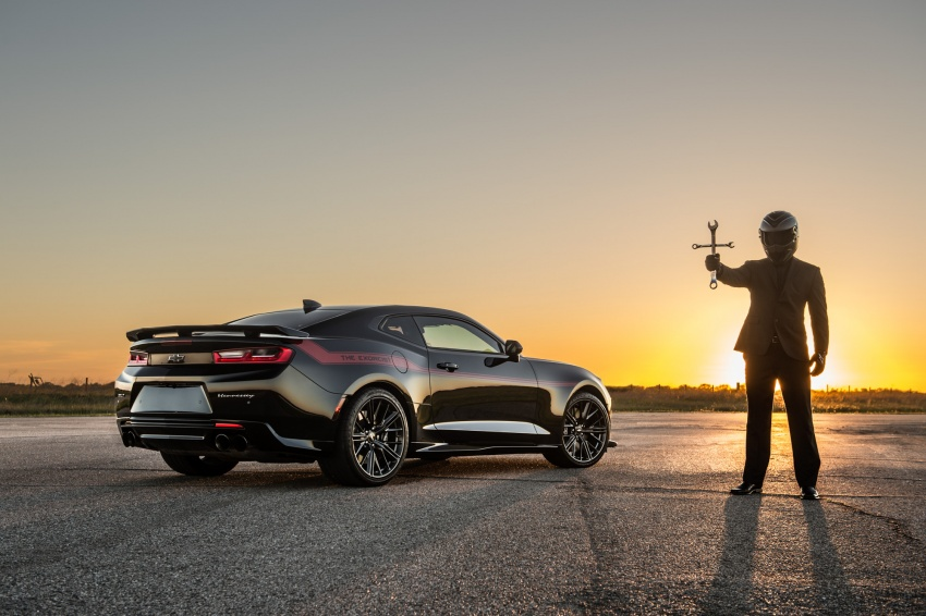 Hennessey unveils The Exorcist – casting out Demons with a 6.2L V8; 1,014 divine hp, 1,310 Nm of torque Image #642739