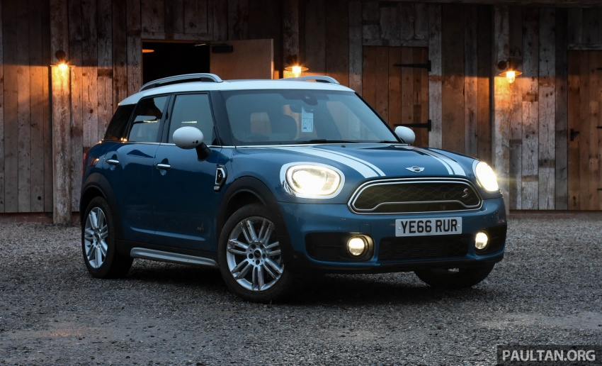 DRIVEN: F60 MINI Cooper S Countryman in the UK Image #644787