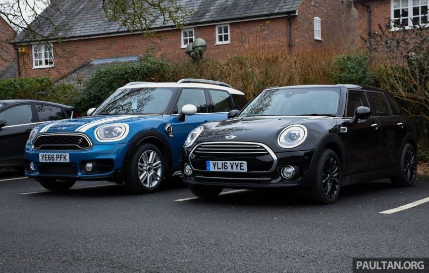 DRIVEN: F60 MINI Cooper S Countryman in the UK Image #644892