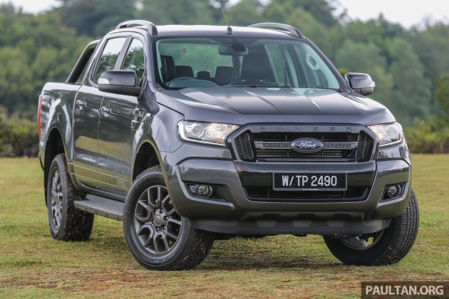 If You Ve Been Hankering For A Ford Ranger But Wished That It Came With Bit More Wildtrak Presence Here S The Fx4 2 Xlt Unique Trim