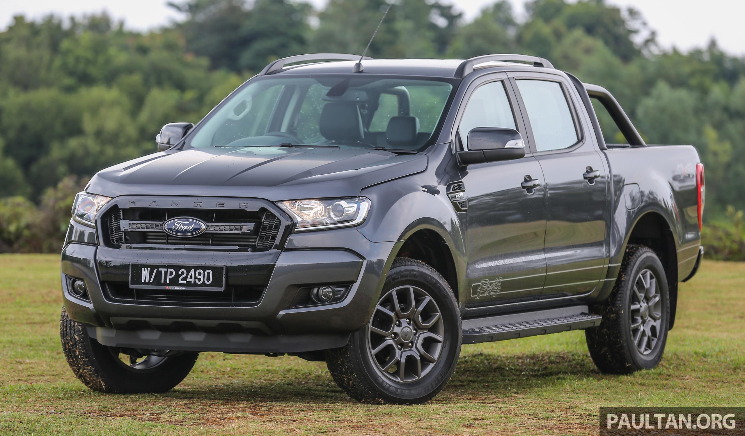 Ford Ranger Coming To Us >> Ford Ranger 2.2L FX4 coming April 20 – RM122k est Image 642113