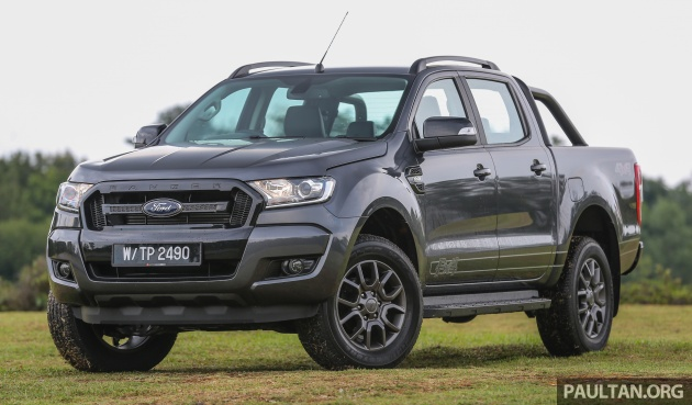 Ford Ranger 2017 >> Ford Ranger 2 2l Fx4 Launched In M Sia Rm121 888