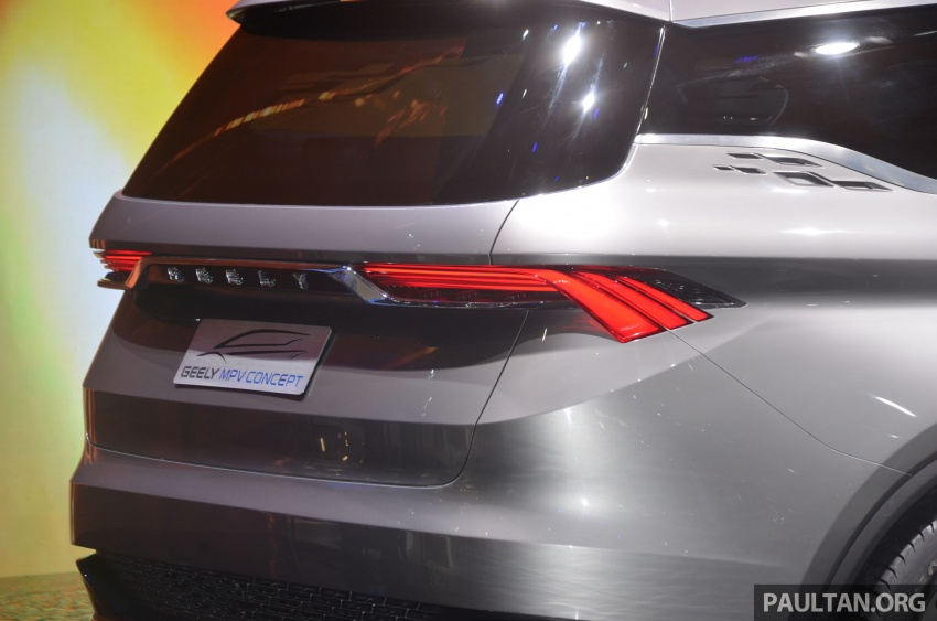 GALLERY: Geely MPV Concept on stage in Shanghai Image #649583