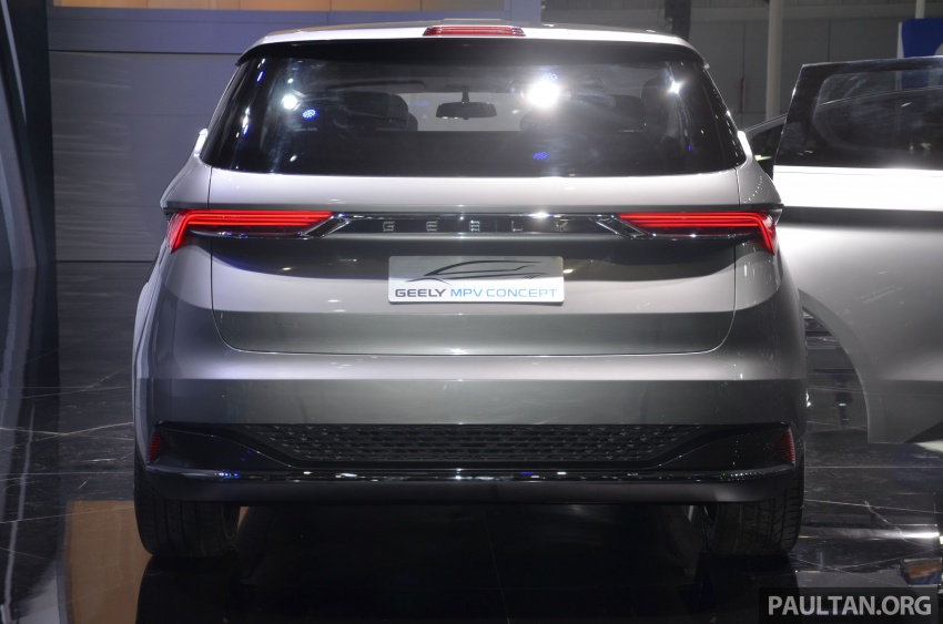 GALLERY: Geely MPV Concept on stage in Shanghai Image #649584