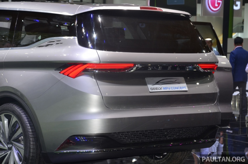 GALLERY: Geely MPV Concept on stage in Shanghai Image #649586