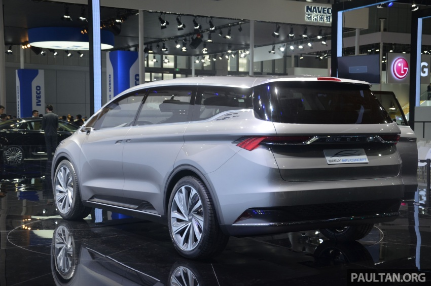 GALLERY: Geely MPV Concept on stage in Shanghai Image #649587