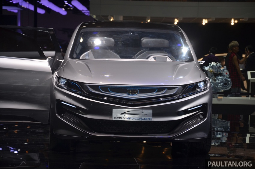 GALLERY: Geely MPV Concept on stage in Shanghai Image #649589
