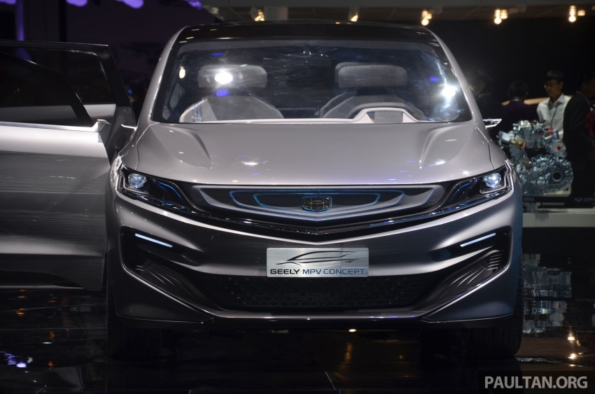 GALLERY: Geely MPV Concept on stage in Shanghai Image #649590