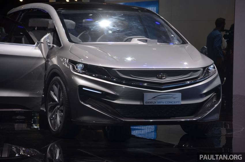 GALLERY: Geely MPV Concept on stage in Shanghai Image #649591