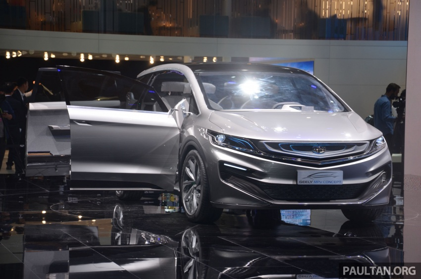GALLERY: Geely MPV Concept on stage in Shanghai Image #649592