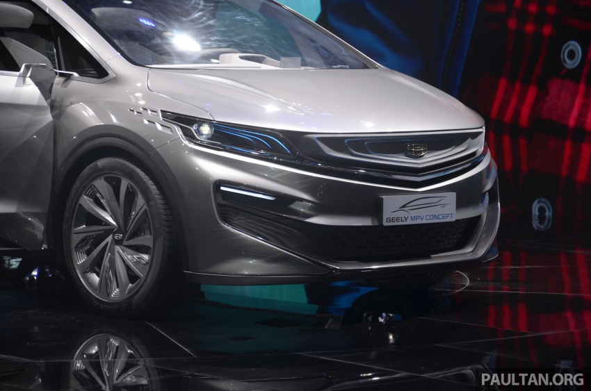 GALLERY: Geely MPV Concept on stage in Shanghai Image #649575