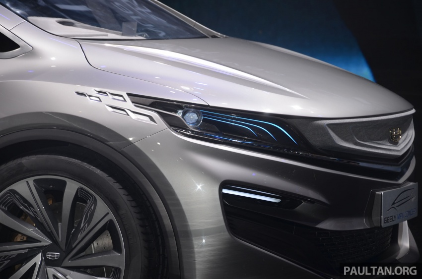 GALLERY: Geely MPV Concept on stage in Shanghai Image #649576