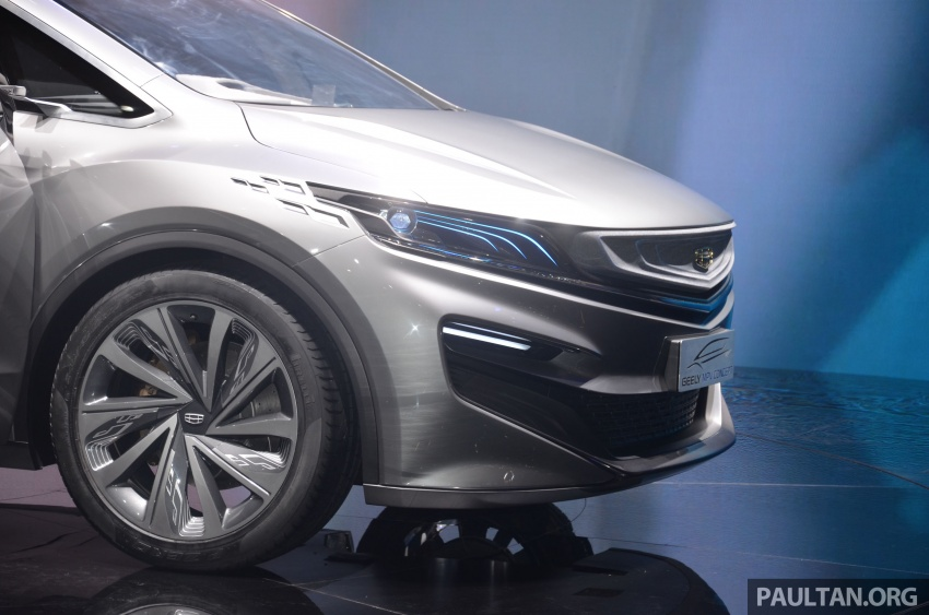 GALLERY: Geely MPV Concept on stage in Shanghai Image #649577