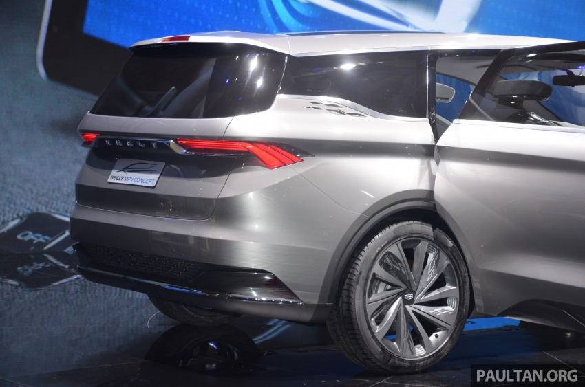 GALLERY: Geely MPV Concept on stage in Shanghai Image #649582