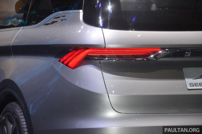 GALERI: Geely MPV Concept di Auto Shanghai 2017 Image #649664