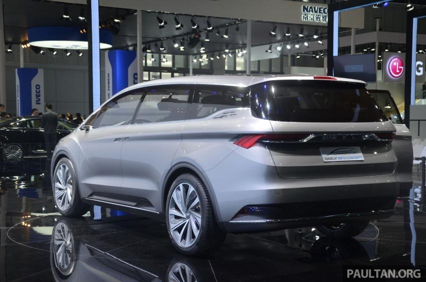 GALERI: Geely MPV Concept di Auto Shanghai 2017 Image #649666