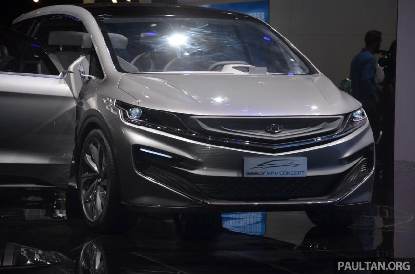 GALERI: Geely MPV Concept di Auto Shanghai 2017 Image #649670