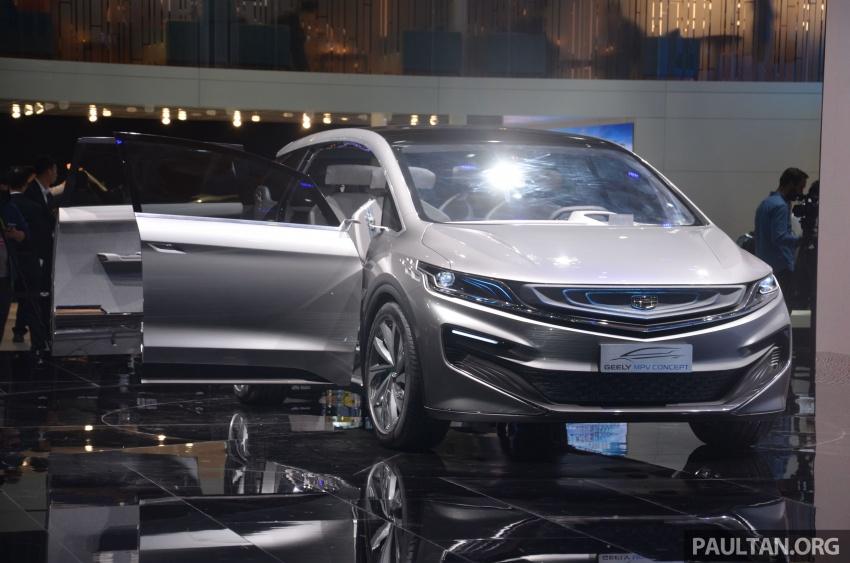 GALERI: Geely MPV Concept di Auto Shanghai 2017 Image #649671