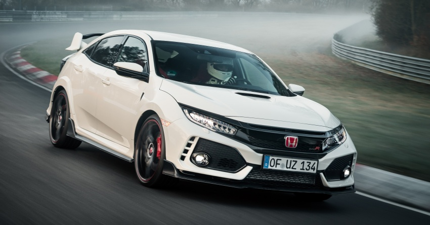 Honda Civic Type R reclaims FWD Nurburgring record Image #649971