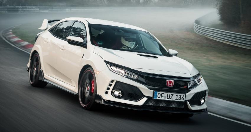 Honda Civic Type-R generasi baharu rampas takhta kereta pacuan hadapan terpantas di litar Nurburgring Image #650326