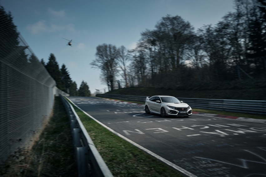 Honda Civic Type R reclaims FWD Nurburgring record Image #649980