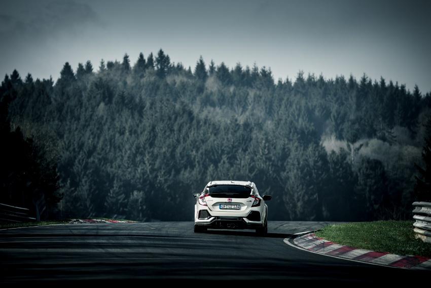 Honda Civic Type-R generasi baharu rampas takhta kereta pacuan hadapan terpantas di litar Nurburgring Image #650312