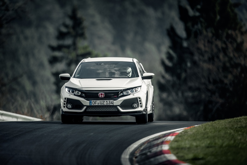 Honda Civic Type R reclaims FWD Nurburgring record Image #649982