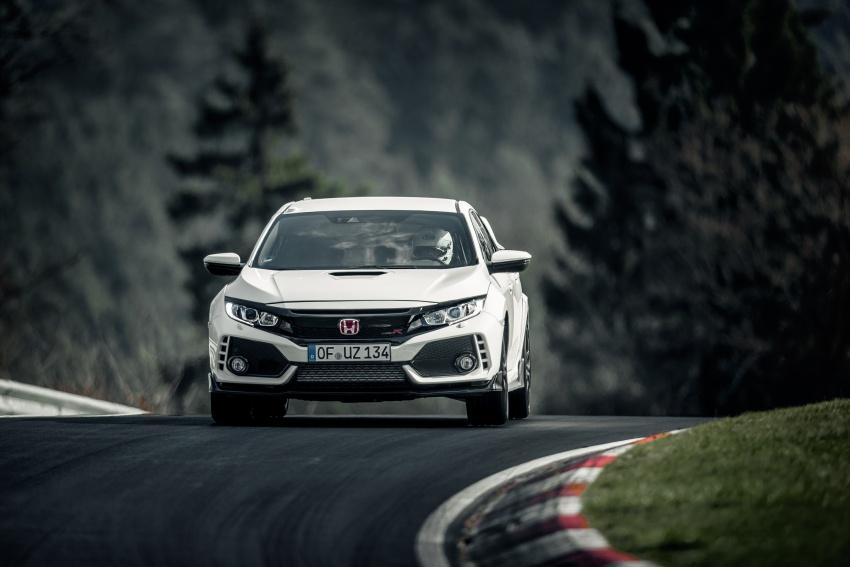 Honda Civic Type-R generasi baharu rampas takhta kereta pacuan hadapan terpantas di litar Nurburgring Image #650310