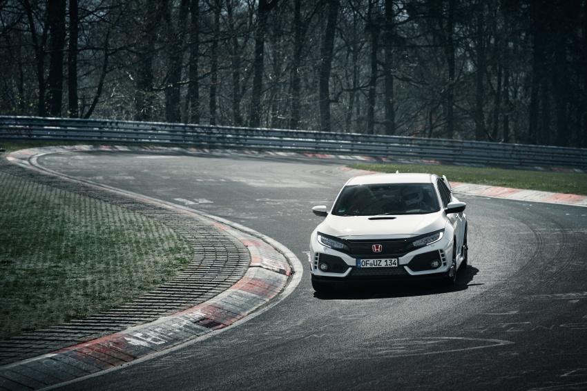 Honda Civic Type-R generasi baharu rampas takhta kereta pacuan hadapan terpantas di litar Nurburgring Image #650308
