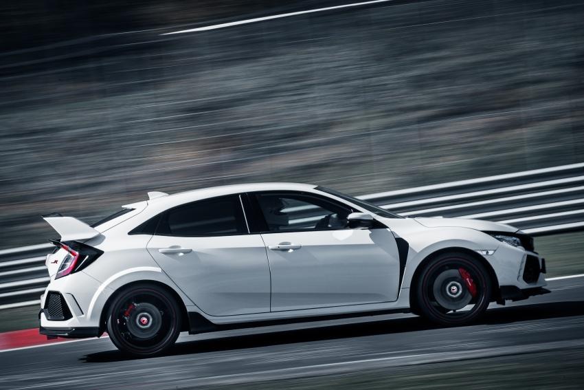 Honda Civic Type-R generasi baharu rampas takhta kereta pacuan hadapan terpantas di litar Nurburgring Image #650307