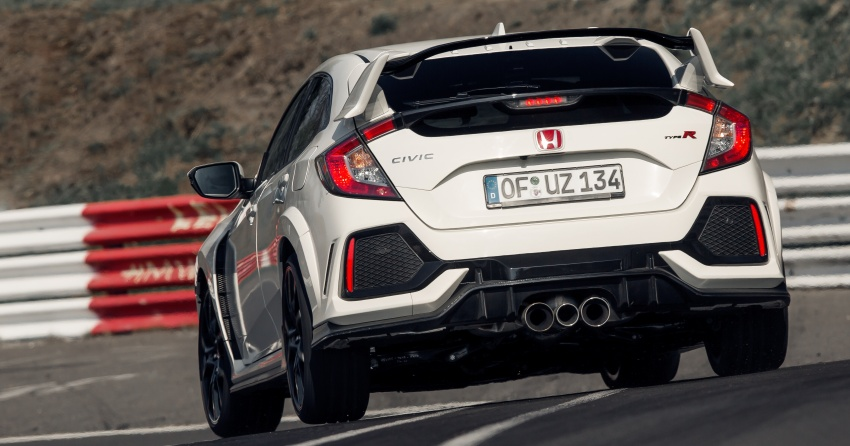 Honda Civic Type R reclaims FWD Nurburgring record Image #649985