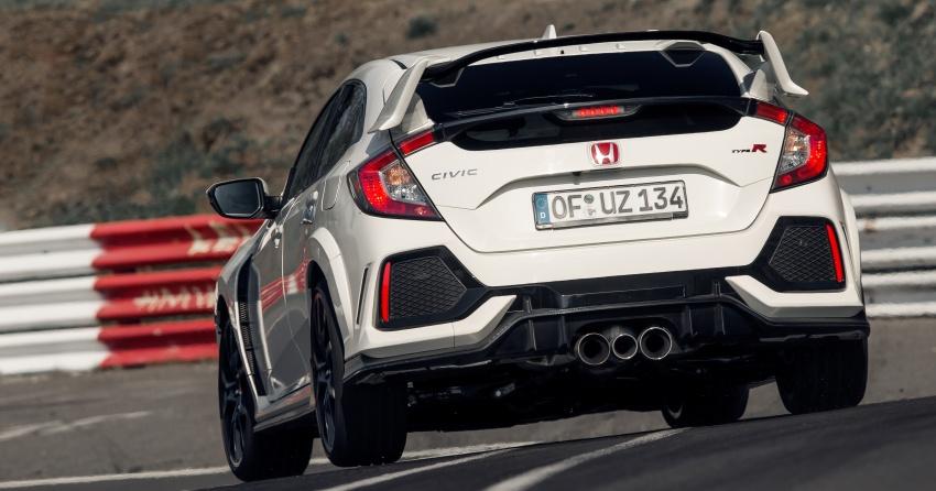 Honda Civic Type R reclaims FWD Nurburgring record Image #649985