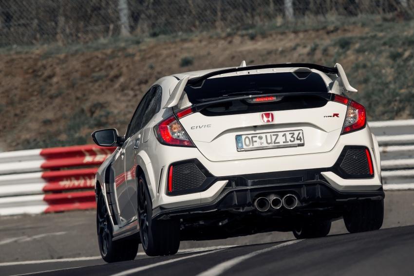 Honda Civic Type-R generasi baharu rampas takhta kereta pacuan hadapan terpantas di litar Nurburgring Image #650305