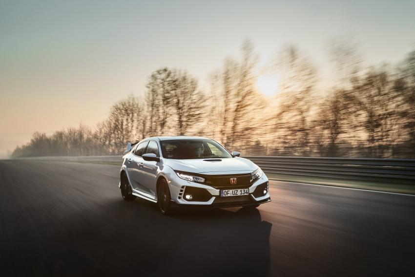 Honda Civic Type-R generasi baharu rampas takhta kereta pacuan hadapan terpantas di litar Nurburgring Image #650301