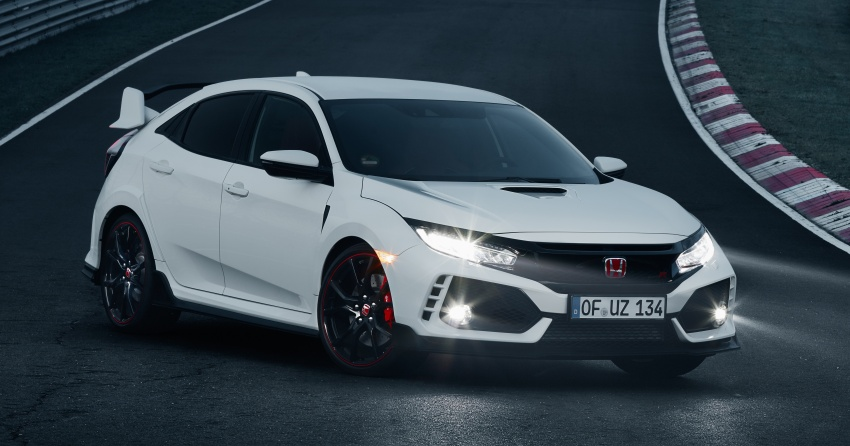 Honda Civic Type R reclaims FWD Nurburgring record Image #649989