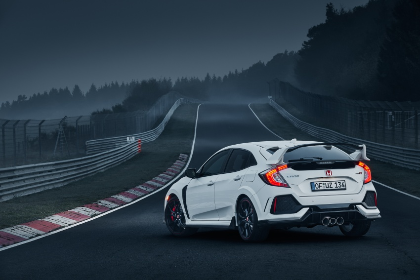 Honda Civic Type R reclaims FWD Nurburgring record Image #649990