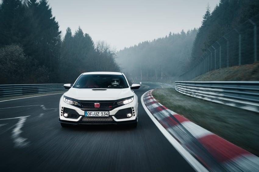 Honda Civic Type R reclaims FWD Nurburgring record Image #649972