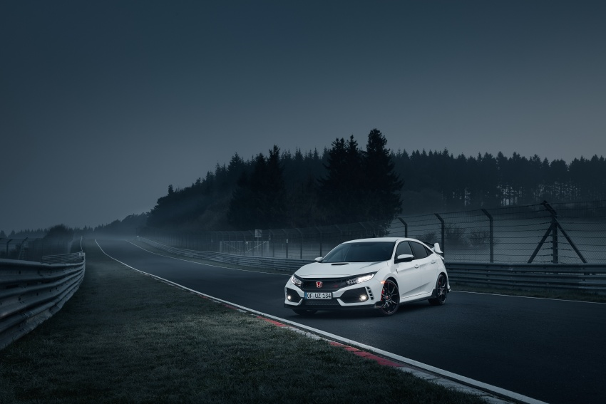 Honda Civic Type R reclaims FWD Nurburgring record Image #649991