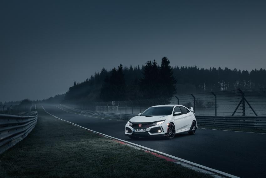 Honda Civic Type-R generasi baharu rampas takhta kereta pacuan hadapan terpantas di litar Nurburgring Image #650295