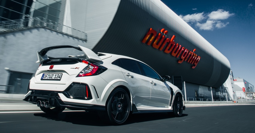 Honda Civic Type R reclaims FWD Nurburgring record Image #649992